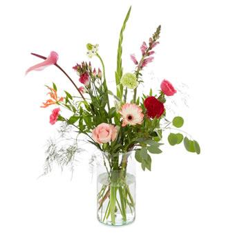 plukboeket zacht roze