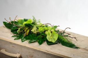 Grafstuk Anthurium Eigentijds