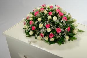 Biedermeier Roze Wit Klassiek